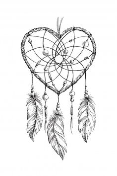Stock Photo Drawing Tips dream catcher drawing Dream Catcher Coloring Pages, Dream Catcher Drawing, Dream Catcher Tattoo Small, Dream Catcher Tattoo Design, Drawings Of Dream Catchers, Dream Drawing, Atrapasueños Tattoo, Tattoo Drawings, Body Art Tattoos
