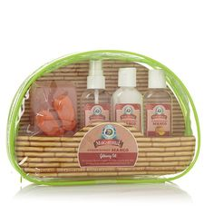 Margaritaville Getaway 4-piece Bath and Body Set with Travel Bag - Strawberry Mango * Discover this special outdoor gear, click the image : Travel Skincare