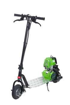 PROGO Propane Powered Motor Scooter-Go Clean Kickstarter Review @ProGoscooters