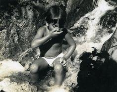 Israel Amiram Little Israeli Boy Child Old Photo Maziere 1969