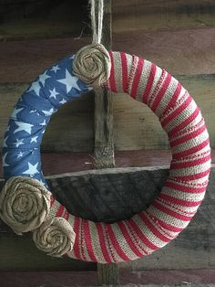 Patriotic American Wreath Patriotic Wreath American Spirit