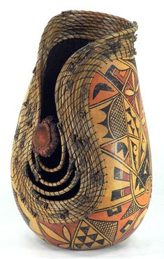 Fine Gourd Art by Judy Richie |Pinned from PinTo for iPad|
