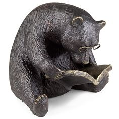 Birthday gift idea!! hint hint hint... Reading Bear Bookend - Book End, Bookend - Levenger