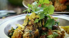 Spice Trip - Articles - Chicken Braised with Preserved Lemons and Cinnamon Recipe - Channel 4 Lemon Dill Chicken Recipe, Chicken Recipes, Recipe Chicken, Cinnamon Recipes, Lemon Recipes, Slow Cooker Recipes, Cooking Recipes, Healthy Recipes, Savoury Recipes
