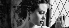Angelina Jolie by Helmut Newton