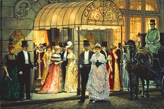 Paintings by Alan Maley | Alan Maley - Cafe Royal