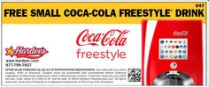 FREE Small Coke at Hardee's