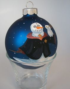 Potter snowman ornament  Love this