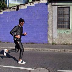Morning #running #violet #coolStyle #guerraintesta_