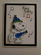 Snoopy for sale Happy Birthday Greeting Card, Greeting Cards, Happy B Day Images, Smurfs, A2 Size, Snoopy, Confidence, Fictional Characters, Ebay
