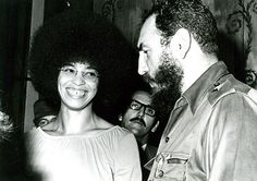 Stalinist Angela Davis headliner at Washington Anti-Trump Women's march. Angela Davis, Fidel Castro, Meeting Of The Minds, Peter Tosh, Gordon Parks, Black Panther Party, Political Posters, Civil Rights Activists, Black Families