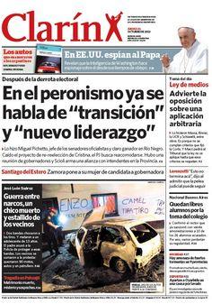 """Tras la derrota, en el PJ hablan de """"nuevo liderazgo"""" y de """"transición"""". Más información: http://www.clarin.com/politica/derrota-PJ-hablan-liderazgo-transicion_0_1021097896.html"""