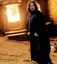 """2009 - Still shot of Alan Rickman as Professor Severus Snape in """"Harry Potter and the Half-Blood Prince."""""""