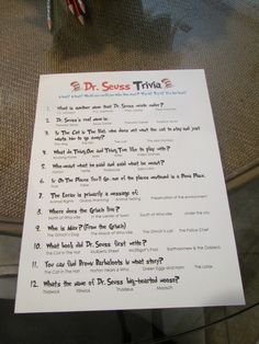 """Photo 1 of 38: Dr. Seuss / Baby Shower/Sip & See """"Shayne's Baby Shower"""" 