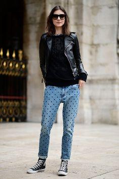 Street style Paris Fashion Week otono invierno 2014 | Galería de fotos 93 de 249 | VOGUE