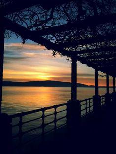 L'alba di #Arona, buongiorno a tutti! ( #Novara #Piedmont #Italy ) #sunrise