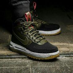 weniger teuer Nike Air Force 1 DuckStiefel (SchwarzWeiß