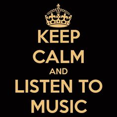 .. Keep Calm Posters, Keep Calm Quotes, Me Quotes, Qoutes, Random Quotes, Music Quotes, I Love Music, Music Is Life, Music Music