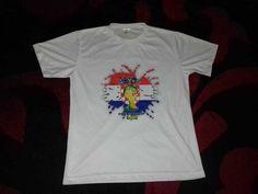 1f325b6d8 Men's Medium White Croatia World Cup Flag Country Graphic Tee Shirt Football  #MM #GraphicTee