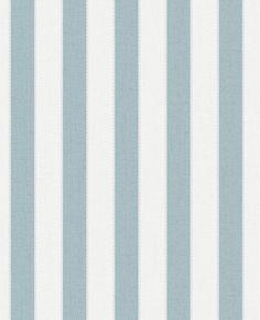 Tapete Graham & Brown Fabric Collection 20-524 20524 Streifen blau weiß silber 3 Rollen - Schlazi