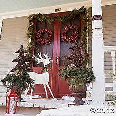 Slotted Reindeer Decoration