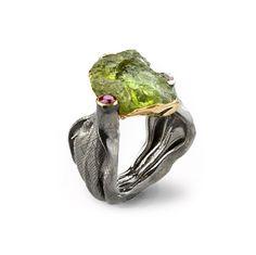 Jewelry made by an auteur designer German Kabirski - entrenous by LE NOEUD www.enbyln.com