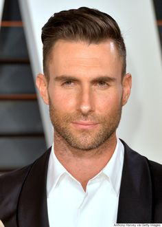 Adam Levine Hairstyle David Beckham Named People's Sexiest Man Alive  Entertainment
