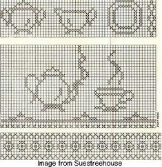 Free pattern: Cross-stitch on gingham