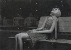 Aron Wiesenfeld's drawings have just recently captivated my attention. Saatchi Gallery, Rite Of Passage, Pop Surrealism, American Artists, Dark Art, Art Inspo, Collages, Illustration Art, Illustrations