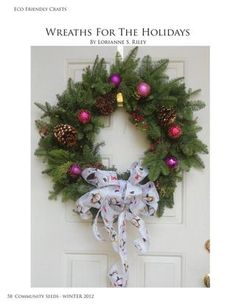 Wreaths for the Holidays