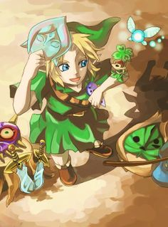 Legend of Zelda - So many game references in one photo. xD
