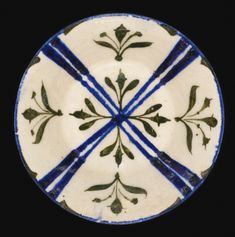 A Kashan bowl with painted cross design and floral motifs, Persia, Early 13th Century - Sotheby's