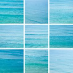 Shades of the ocean