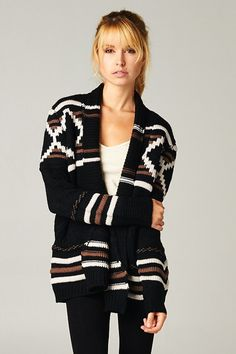 Amber Knit Sweater ... nothing better than a big comfy sweater to survive winter.