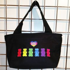 Gummy Bears Insulated Lunch Bag (Black) - LikeWear