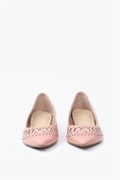 Dara Flat in Blush