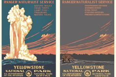 Iconic National Park Posters Redesigned for 2050 Show the Devastation of Climate Change - Creators