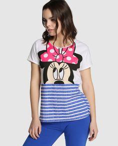 c67584a7d9 Camiseta de pijama de Disney para Easy Wear Íntimo con Minnie Mouse Ropa De  Dormir