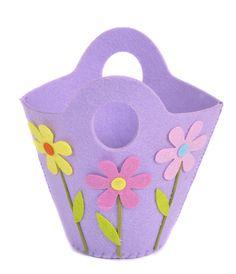 Purple Felt Easter Basket from Joanna Wood Shop | www.joannawood.co.uk #easter #basket
