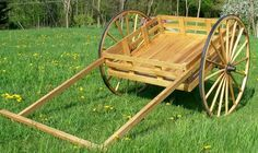 Mormon Hand Cart - Wagon Wheels Custom Made
