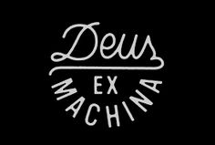 Image result for deus ex machina logo