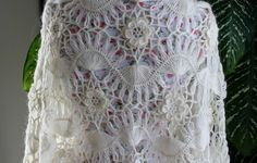 Hairpin Lace Afghans Crochet   Ready to ship /GORGEOUS Angora Ivory from ufer on Etsy   hand