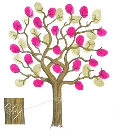 """Fingerprint tree with names would be great on a tee for kindergarten graduation...Great teacher idea...name each child's fingerprint, teacher's name on the tree. """"Thanks for helping us grow"""" sign by the tree"""