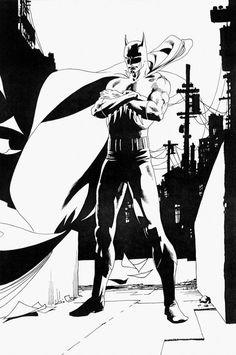 Batman by Kevin Nowlan *
