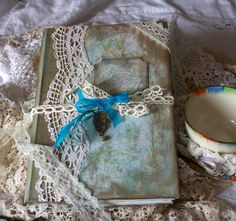 Guest books for wedding  vintage shabby by youruniquescrapbook, £69.95