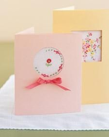 Make Mom a Peekaboo Gift Card for Mother's Day