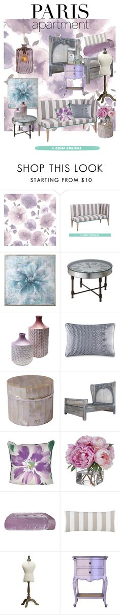 """""""Paris Perfect"""" by christyshawn ❤ liked on Polyvore featuring interior, interiors, interior design, home, home decor, interior decorating, Graham & Brown, Uttermost, J. Queen New York and Loom and Mill"""