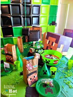 Als je je verjaardagfeestje geeft dan kun je dat in de Minecraft thema doen. Van uitnodigingen tot taart en van drinken tot snoep alles kan in de minecraft thema. Lees maar eens door en laat je inspireren. Wij hebben in ieder geval uitdeel zakken en ballonnen! http://www.minestore.nl/product-category/overig/ Hieronder vind je [...]