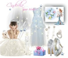 """""""Cinderela... que tédio!"""" by dehti ❤ liked on Polyvore"""