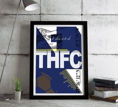 This is a stylish Tottenham Hotspur FC poster print, fit to grace any man cave or childrens bedroom. Styled with typography it features the stadium coordinates, graphic and legends from this iconic team. CAN BE PERSONALISED BY ADDING YOUR/THE RECIPIENTS NAME TO THE PLAYERS LIST. You can either purchase this artwork as a print or framed and ready to hang on the wall. To purchase this framed please see our other item on the link below…